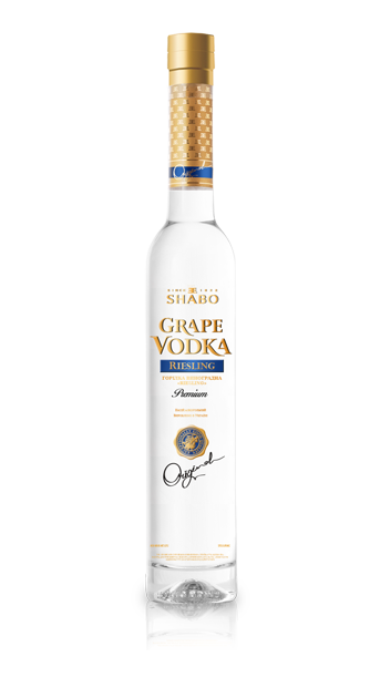 Виноградная водка Шабо Grape vodka Shabo Riesling