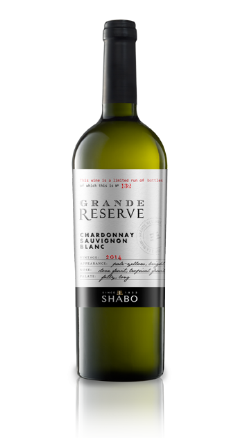 Grande Reserve Shabo Шардоне -  совиньон блан