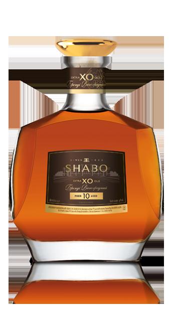 Бренди выдержанный Шабо Shabo Х.О 10 лет