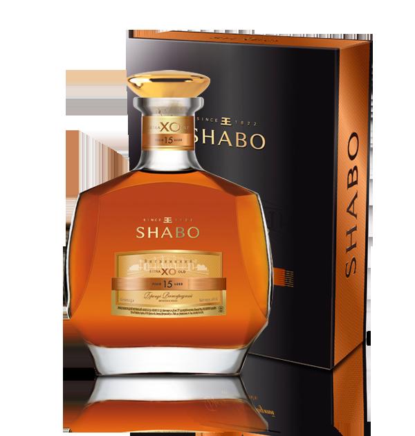 Бренди выдержанный Шабо Shabo Х.О 15 лет