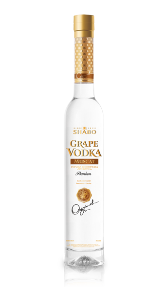 Виноградная водка Шабо Grape vodka Shabo Muscat
