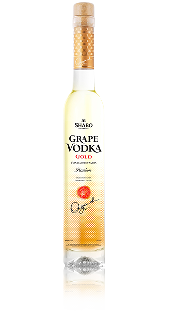 Виноградная водка Шабо Grape vodka Shabo Gold