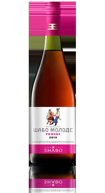 Вино Шабо молодое Розовое